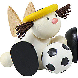 Angel Lotte with Football - 7 cm / 2.8 inch