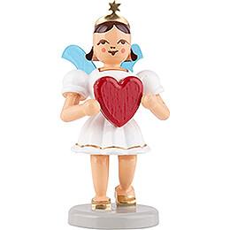 Angel Short Skirt Colored, Heart - 6,6 cm / 2.6 inch