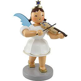 Angel Short Skirt Colored with Violin SWAROVSKI ELEMENTS - 20 cm / 7.9 inch