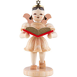 Angel Short Skirt with Storybook - Natural - 6,6 cm / 2.6 inch