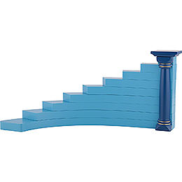 Angel Stairs left, Colored - 16 cm / 6.3 inch