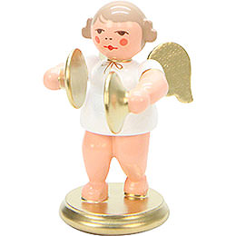 Angel White/Gold with Cymbals - 6,0 cm / 2 inch