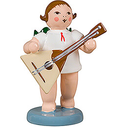 Angel with Balalaika - 6,5 cm / 2.6 inch