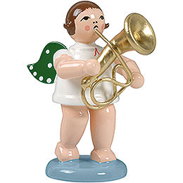Angel with Baritone Horn - 6,5 cm / 2.5 inch