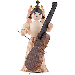 Angel with Bass - 7 cm / 2.8 inch