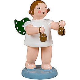 Angel with Castanets - 6,5 cm / 2.6 inch