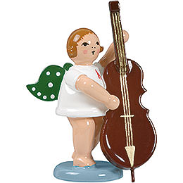 Angel with Contrabass - 6,5 cm / 2.5 inch