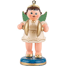 Angel with Cymbals - 6,5 cm / 2,5 inch