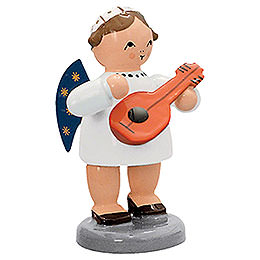 Angel with Mandolin - 5 cm / 2 inch
