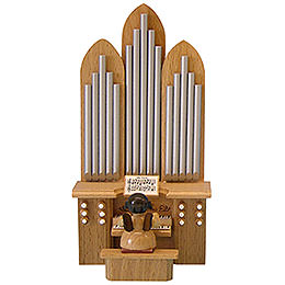 Angel with Organ with Musical Mechanism