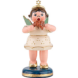 Angel with Pan Flute - 6,5 cm / 2,5 inch