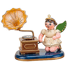 Angel with Phonograph - 6,5 cm / 2 inch