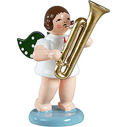 Angel with Sarrusophone - 6,5 cm / 2.5 inch