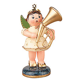 Angel with Tenor Horn - 6,5 cm / 2,5 inch