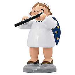 Angel with Transverse Flute - 5 cm / 2 inch