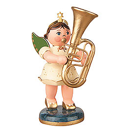 Angel with Tuba - 6,5 cm / 2,5 inch