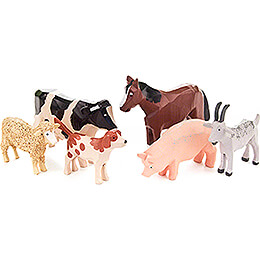 Animals - 8 pieces - 8 cm / 3.1 inch