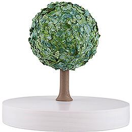 Apfelbaum auf Scheibe - ohne Figuren - Sommer - 13 cm