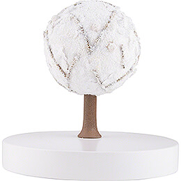 Apple Tree Platform - without Figurines - Winter - 13 cm / 5.1 inch