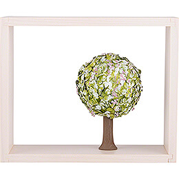 Apple Tree in Frame - without  Figurines - Spring - 13,5 cm / 5.3 inch