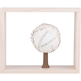 Apple Tree in Frame - without  Figurines - Winter - 13,5 cm / 5.3 inch