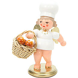 Bäckerengel mit Brotkorb - 7,5 cm