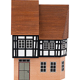 Backdrop House - Town House with Segmented Top Floor - 16 cm / 6.3 inch