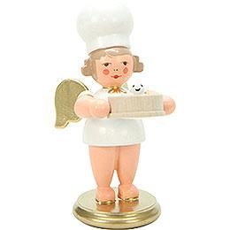 Bäckerengel mit Mehlsieb - 7,5 cm