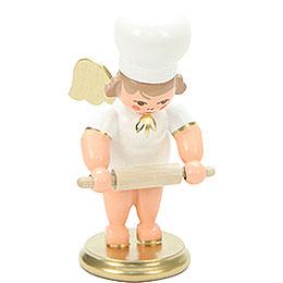 Bäckerengel mit Nudelholz - 7,5 cm