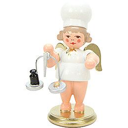 Bäckerengel mit Waage - 7,5 cm