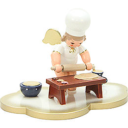 Baker Angel on Angel Cloud - 7,0 cm / 3 inch