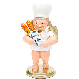 Baker Angel with Baguette - 7,5 cm / 3 inch