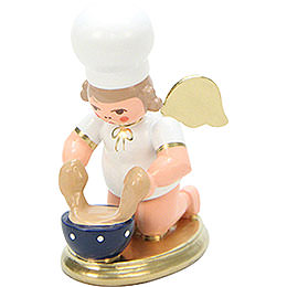 Baker Angel with Dish - 7,5 cm / 3 inch
