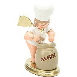 Baker Angel with Flour Sack - 7,5 cm / 3 inch