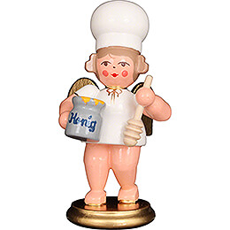 Baker Angel with Honey Pot - 7,5 cm / 3 inch
