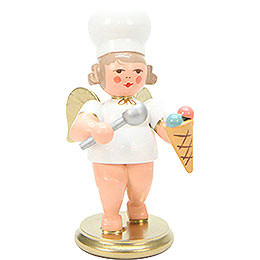 Baker Angel with Icecream - 7,5 cm / 3 inch
