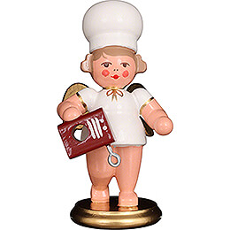 Baker Angel with Mixer - 7,5 cm / 3 inch