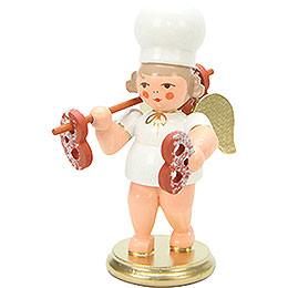 Baker Angel with Pretzels - 7,5 cm / 3 inch