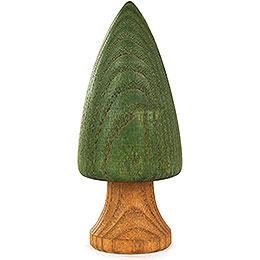 Baum grün mit Stamm - 9 cm