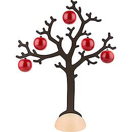 Baum mit 5 Äpfeln - 40,5 cm