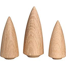 Baumgruppe, 3-teilig - 9 cm
