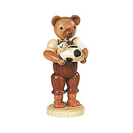 Bear with Cat - 10 cm / 4 inch