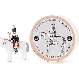Bergmann auf Pferd in Spandose - 3 cm