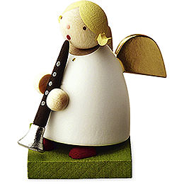 Big Band Guardian Angel with Clarinet - 3,5 cm / 1.3 inch
