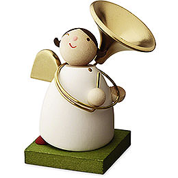 Big Band Guardian Angel with Sousaphone - 3,5 cm / 1.3 inch