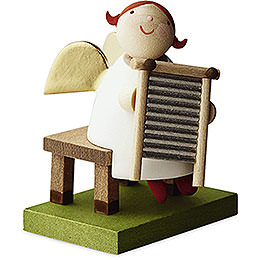 Big Band Guardian Angel with Washboard - 3,5 cm / 1.3 inch