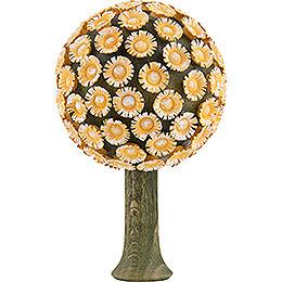 Blütenbaum gelb - 8,5x5 cm