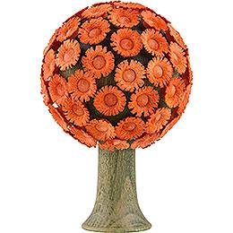Blütenbaum orange - 6x4 cm