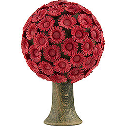 Blütenbaum rot - 6x4 cm