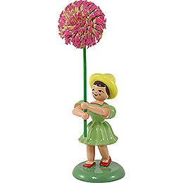 Blumenkind Chrysantheme, farbig - 12 cm